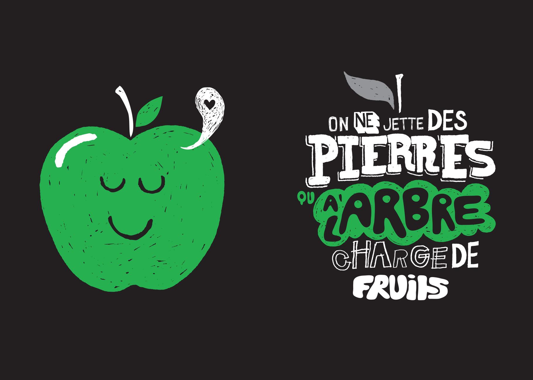 On ne jette des pierres qu'à l'arbre chargé de fruits
