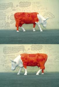 Tabas cow parade marseille