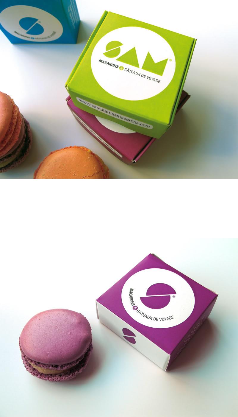 macarons boxes