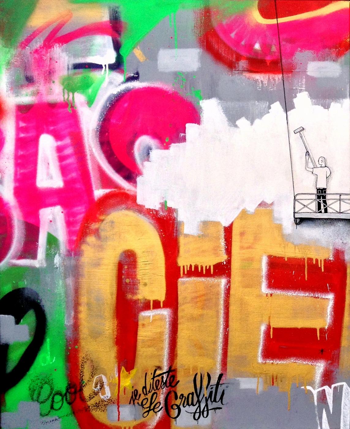 Je déteste le graffiti 0A