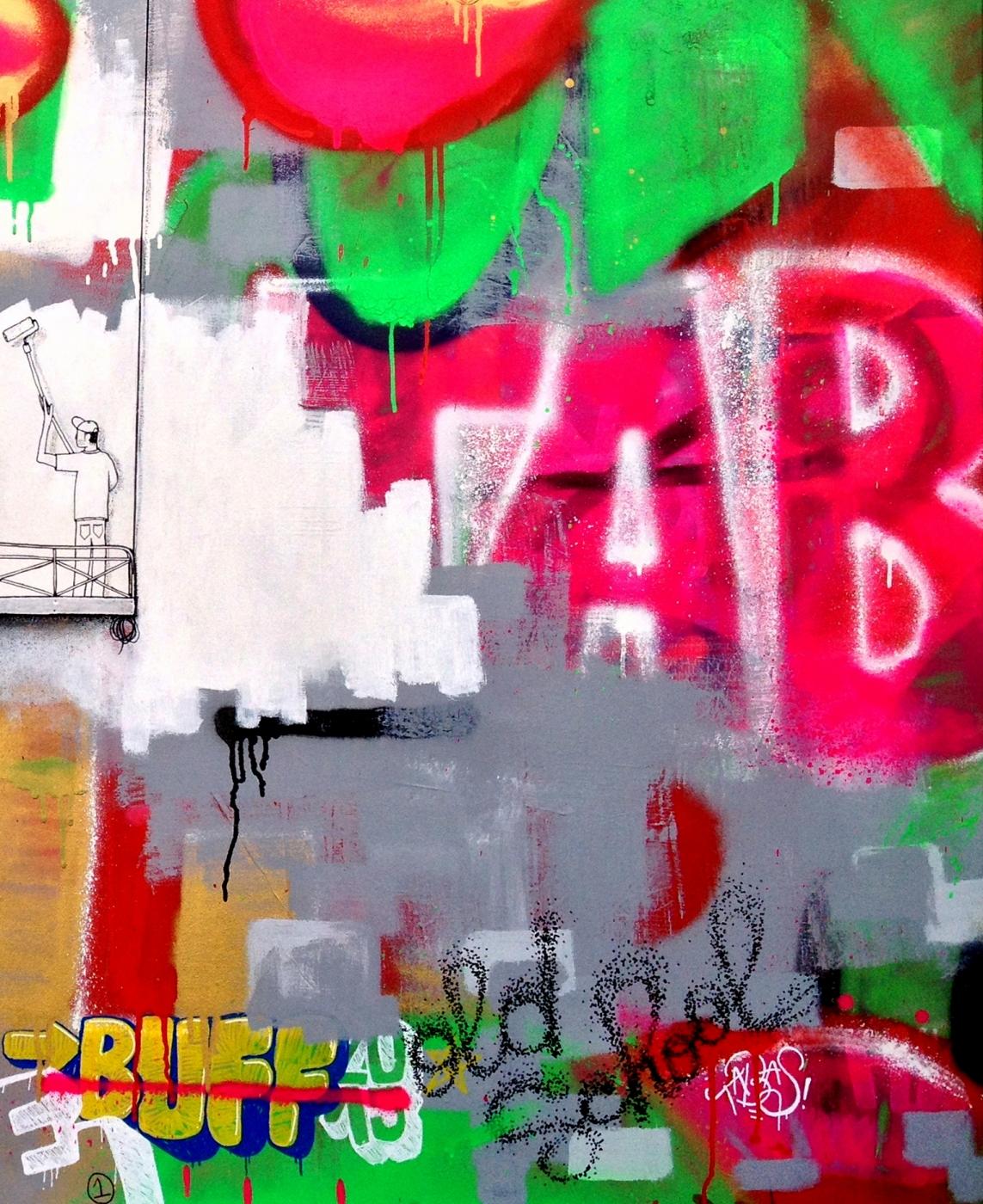 Je déteste le graffiti 0B
